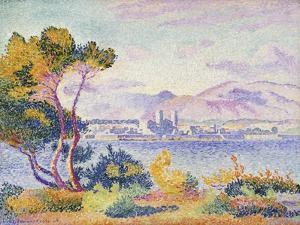 Antibes, Afternoon (Antibes, Apres-midi). 1908 by Henri Edmond Cross