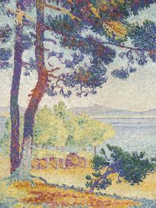 Après-midi à Pardigon (Var) by Henri Edmond Cross