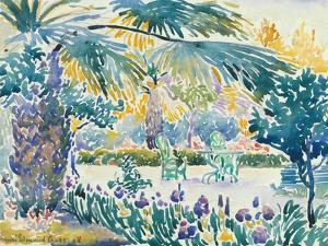 Garden of the Painter at Saint Clair, 1908 by Henri-Edmond Cross