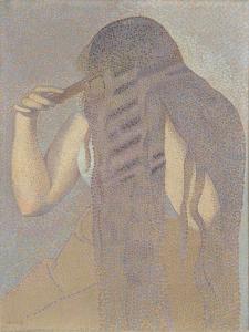 La chevelure by Henri Edmond Cross