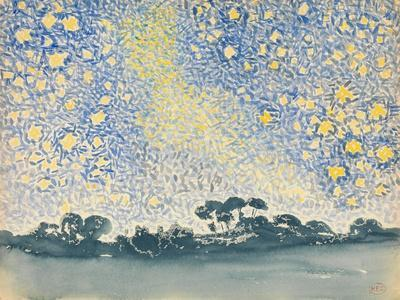 Landscape with Stars, c.1905-08