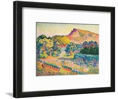 Landschaft mit Le Cap Nègre. Paysage avec le cap Nègre. 1906