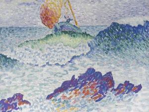 Le naufrage by Henri Edmond Cross