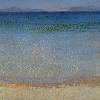 Les Iles d'Or, Iles d'Hyeres, Var, 1891-1892 Canvas, 59 x 54 cm R. F. 1977-136.