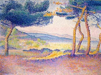 Pines Along the Shore, 1896