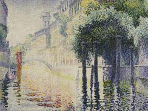 Rio San Trovaso, Venice, circa 1904 by Henri Edmond Cross