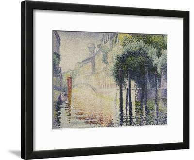 Rio San Trovaso, Venice, circa 1904