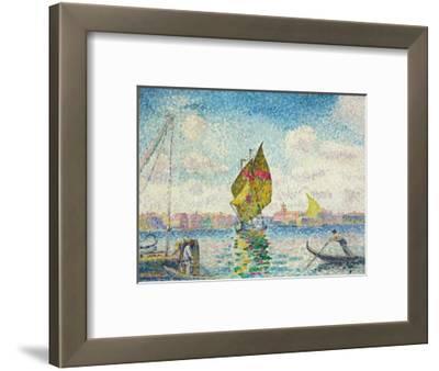 Segelboote auf dem Giudecca oder Venedig, Marine. 1903-1905