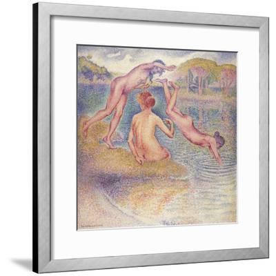 The Bathers (The Joyful Bathing); Les Baigneuses (La Joyeuse Baignade), 1899-1902