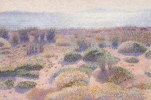 The Beach of Vignasse by Henri Edmond Cross