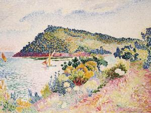 The Black Cape, Pramousquier Bay, 1906 by Henri Edmond Cross