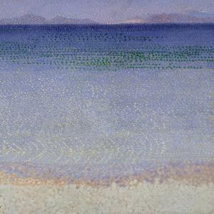 The Iles d'Or (The Iles d'Hyeres, Var), c.1891-92 (oil on canvas) by Henri-Edmond Cross