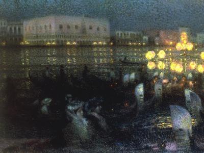 La Serenade, Venise, 1905