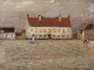 Square, Fort-Philippe, 1902 (Oil on Panel)