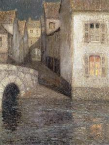 The House by the River, Chartres by Henri Eugene Augustin Le Sidaner