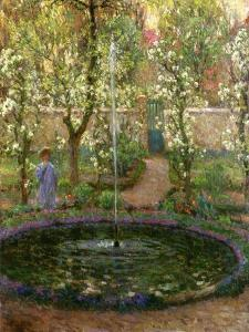The Small Pond, 1905 by Henri Eugene Augustin Le Sidaner