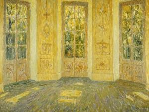 Windows on the Parc by Henri Eugene Augustin Le Sidaner