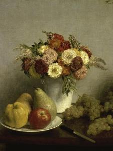 Fleurs et Fruits by Henri Fantin-Latour