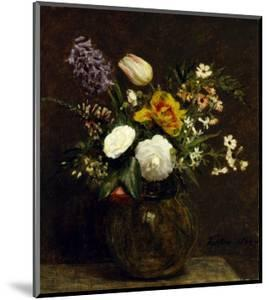 Flower: Tulips, Camelias and Hyacinths by Henri Fantin-Latour