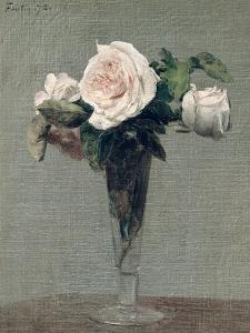 Flowers, 1872 by Henri Fantin-Latour