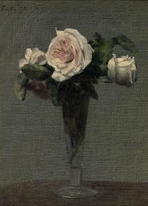 Flowers, 1872 by Henri Fantin Latour