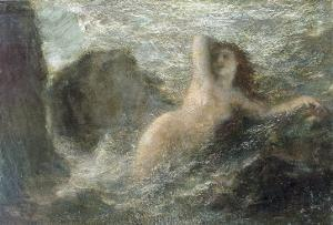 Ondine, 1880 by Henri Fantin-Latour