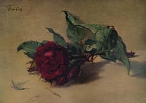 'Red Rose', c1864, (1938) by Henri Fantin-Latour