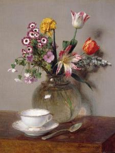 Spring Bouquet, 1865 by Henri Fantin-Latour