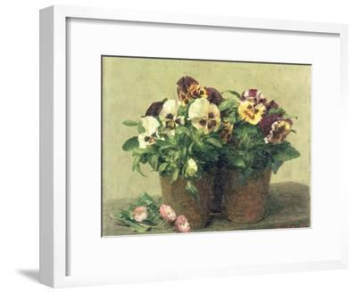 Still Life of Pansies and Daisies, 1889