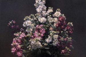 White and Purple Stock by Henri Fantin-Latour