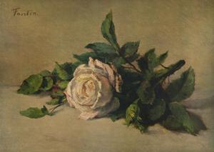 'White Rose', c1863, (1938) by Henri Fantin-Latour