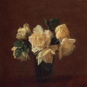 Yellow Roses by Henri Fantin-Latour