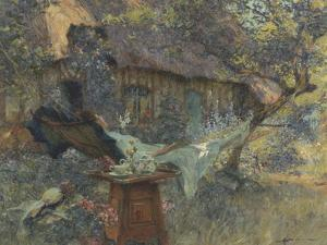 Cottage and a Heart by Henri-Gaston Darien