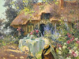 Summersday by Henri-Gaston Darien