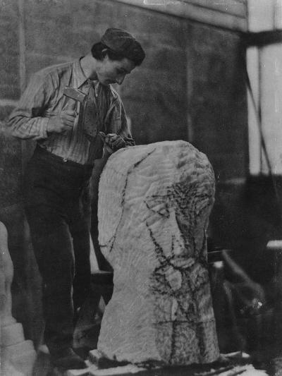 Henri Gaudier-Brzeska, C.1910-English Photographer-Giclee Print