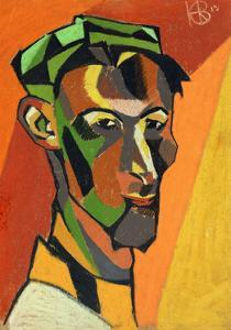 Self Portrait, 1913 by Henri Gaudier-brzeska