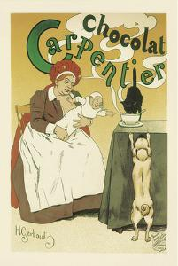 Chocolat Carpentier by Henri Gerbault
