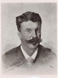 Guy De Maupassant by Henri Gervex