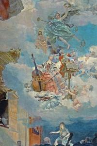Music across the Ages, Ceiling of the Salle Des Fetes (Ballroom), 1891 by Henri Gervex
