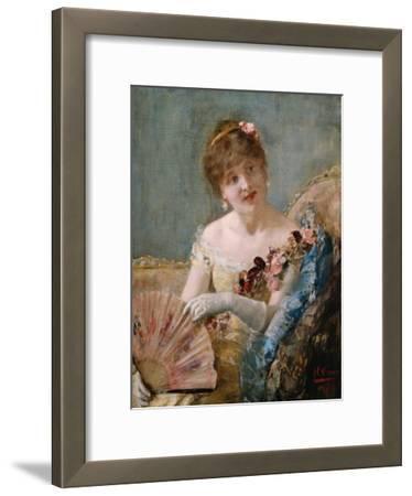 Portrait of a Woman with Fan, 1879