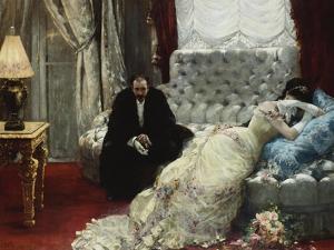 Retour de Bal, 1879 by Henri Gervex