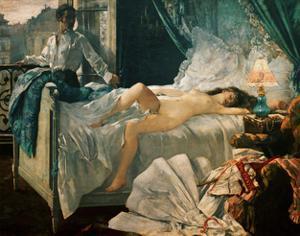 Rolla, 1873 Oil on canvas, 173 x 200 cm. by HENRI GERVEX