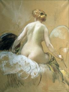 Sketch for a Ceiling Mural for the Elysee-Palace (Not Carried Ou), Late 19Th/Early 20th Century by Henri Gervex