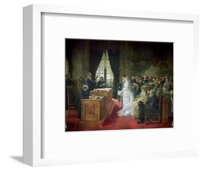 The Civil Marriage, 1881