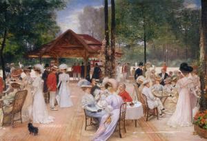 The Club of the Ile de Puteaux, 1907 by Henri Gervex