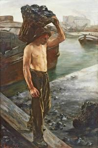 The Coal Carrier, 1882 by Henri Gervex