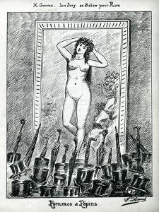 The Jury at the Salon, from 'Le Rire', May 1885 by Henri Gervex