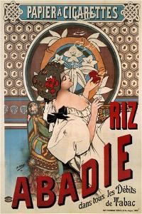Advertising Poster for the Tissue Paper Abadie, 1898 by Henri Gray