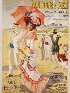 Boulogne S. Mer Poster by Henri Gray