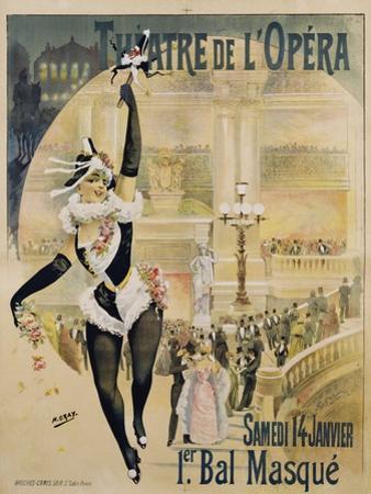 Theatre De L'Opera Poster